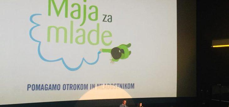 Julije podpiramo projekt Maja za mlade