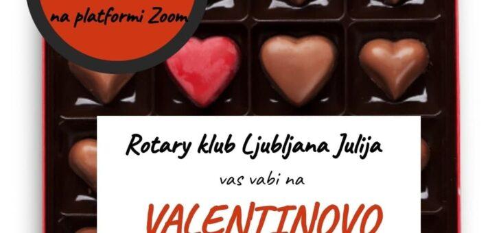 JULIJINA VALENTIONOVA spletna pokušina vina in čokolade